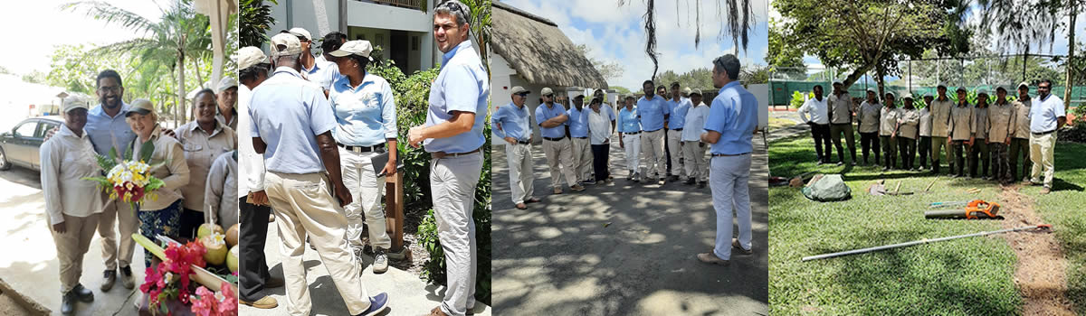 sustainable landscaping programme in Mauritius