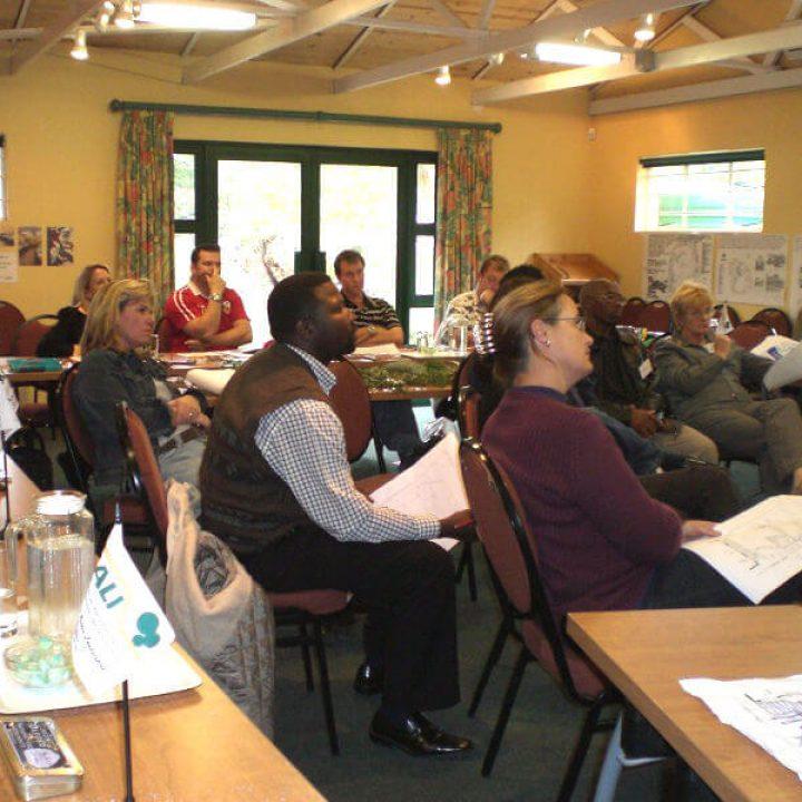 Participants of a Landscape Design School